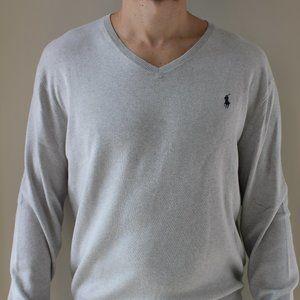 Polo Ralph Lauren - V Neck - Grey - L